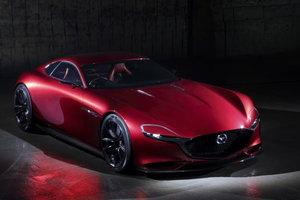 Mazda dévoile la spectaculaire Vision RX à moteur rotatif