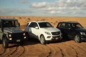 Les véhicules utilitaires sport de Mercedes-Benz