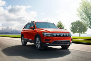 2018 Volkswagen Tiguan: one of the few to offer room for seven passengers