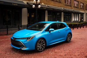 Toyota Corolla Hatchback 2019 : parfaite pour ici