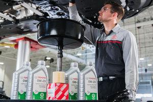 Changement d'huile Toyota à Montréal (dans le West Island) chez Spinelli