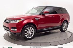 2014 Land Rover Range Rover Sport V8 Supercharged   BAS KILOMÉTRAGE!!
