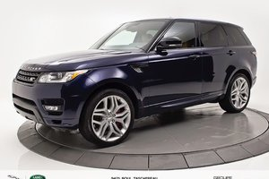 2015 Land Rover Range Rover Sport V8 Supercharged BIOGRAPHY | ENS.CLIMAT + NAV