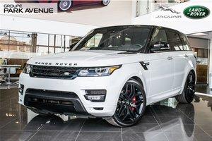 2016 Land Rover Range Rover Sport HST *ÉDITION LIMITÉ* V6 SUPERCHARGED