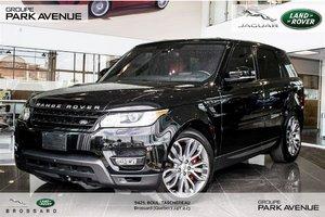 Land Rover Range Rover Sport V8 Supercharged Dynamic *Certifié* 2016
