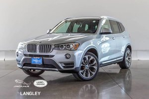 2015 BMW X3 XDrive28i - PREM PKG, LED LIGHTS, ALL WHEEL DRIVE!