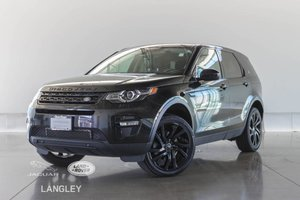 2016 Land Rover DISCOVERY SPORT HSE LUXURY - COOLED SEATS, PANORAMIC ROOF, BLACK PACK!