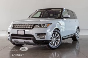 2016 Land Rover Range Rover Sport Td6 HSE - CPO WARR. TO JUNE 2022, DRIVE PACK, PREMIUM PACK, VISION/CONV. PACK