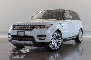 2016 Land Rover Range Rover Sport Td6 HSE - CPO WARR TO NOV 2022, 7 SEATER, DRVR TECH, PREM PKG!