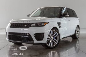 2017 Land Rover Range Rover Sport SVR - WARR. TO APR. 2023, LIKE NEW CONDITION WITH 550HP