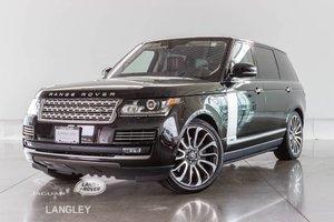 2016 Land Rover Range Rover SC AUTOBIOGRAPHY - WARR. TO JUNE 2022, LWB, DEPLOY SIDESTEPS!