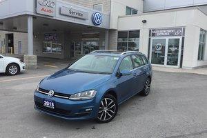 2015 Volkswagen Golf Sportwagon 2.0 TDI Highline 6sp