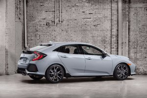 The 2017 Honda Civic Hatchback to be seen at the Montreal Auto Show