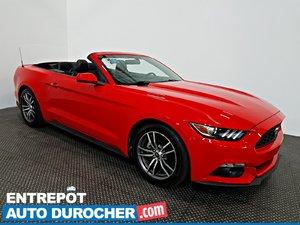 2016 Ford Mustang EcoBoost Premium DÉCAPOTABLE Automatique - A/C - Cuir - Sièges Chauffants et Ventilés - Caméra de Recul