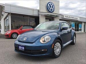 2016 Volkswagen The Beetle Trendline 1.8T 6sp at w/ Tip