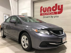 2015 Honda Civic Sedan LX w/backup cam, heated seats, $129.37 ONE OWNER, NO ACCIDENT