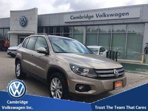 2015 Volkswagen Tiguan Comfortline 6sp at Tip 4M With Low Kms & Financing From 0.9%