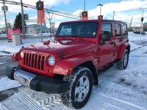 2012 Jeep Wrangler Unlimited SAHARA 2 YEAR WARRANTY..NEW MVI..BUY WITH CONFIDENCE