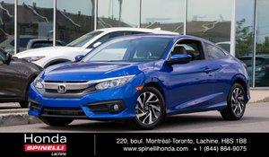 2016 Honda Civic Coupe LX MANUAL MAGS BAS KM MANUELLE AC MAGS BAS KM