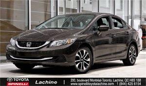 2014 Honda Civic Sedan EX+TOIT OUVRANT SUNROOF, HEATED SEATS, RARE COLOR! HURRY!