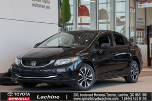2015 Honda Civic Sedan EX HURRY! AIR CONDITINED! HEATED SEATS! BLUETOOTH! MAGS! SUNROOF! ONE OWNER!