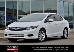 2012 Honda Civic EX-L AUTO CUIR GPS AUTO AC CUIR TOIT GPS++