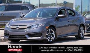 2016 Honda Civic LX DEAL PENDING AUTO BAS KM AUTO AC CRUISE BLUETOOTH++