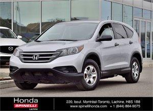 2012 Honda CR-V LX FWD BAS KM AUTO AC BLUETOOTH CAM RECUL FWD