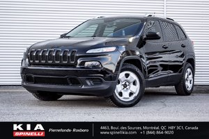 2015 Jeep Cherokee SPORT LOW KM WINTER TIRES