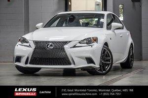 2014 Lexus IS 250 F SPORT II AWD; **RESERVE / ON-HOLD** FS PORT RED INTERIOR - GPS - RAR BACKUP CAMERA