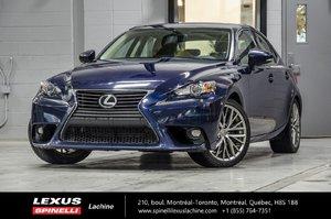 2015 Lexus IS 250 PREMIUM; CUIR TOIT CAMERA NEW ARRIVAL
