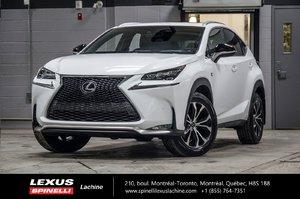 2017 Lexus NX 200t F SPORT III; CUIR TOIT GPS LSS+ $5,219 D'ÉCONOMIE DU PDSF - VÉHICULE NEUF