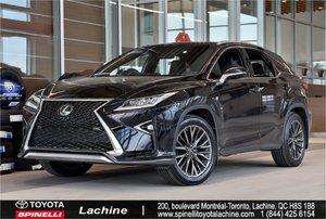 2016 Lexus RX 350 F SPORT 3 MARK LEVINSON GPS AWD new summer tires