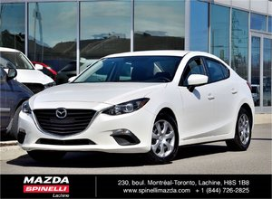 2014 Mazda Mazda3 GX-SKY MANUAL TRES RARE 6 VITESSES