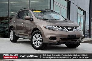 2012 Nissan Murano SL AWD BLUETOOTH, PANORAMIC SUNROOF, BACKUP CAMERA
