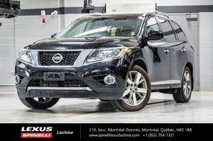 Nissan Pathfinder PLATINUM 4WD; 7 PASS BOSE GPS 2013 7 PASSAGERS - CAPACITÉ REMORQUAGE 5,000 LBS