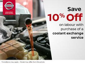 Coolant Exchange Service