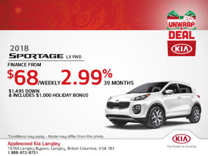 Get the All-New 2018 Kia Sportage Today