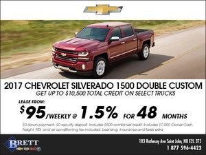 Save big on the 2017 Chevrolet Silverado!