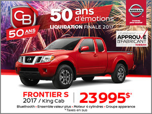 FRONTIER S King Cab 2017