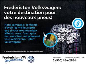Fredericton Volkswagen : votre destination pour des nouveaux pneus