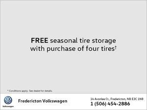 Free Seasonal Tire Storage