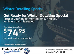 Winter Detailing Special