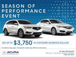 The Acura Season of Performance Event