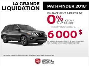 Le Nissan Pathfinder 2018