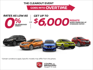 Nissan's Clearout Event Goes into Overtime!