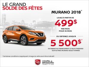 Le Nissan Murano 2018!