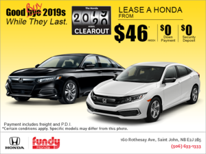 The Honda 2019 Model Clearout Event!