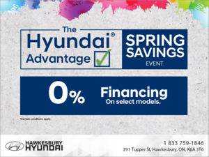 Hyundai Advantage Springs Savings Event