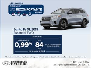 Procurez-vous le Santa Fe XL 2019